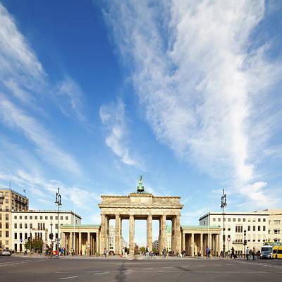 Photograph - Brandenburg Gate, Backview by Tomml