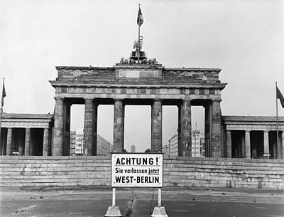 Brandenburg Gate Art Print by John Waterman
