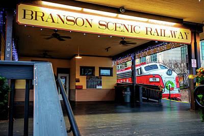 Photograph - Branson Scenic Railway - Christmas Polar Express by Gregory Ballos