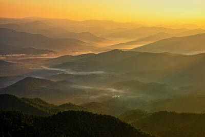 Photograph - Brasstown Bald Mists by Andy Crawford
