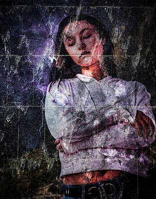 Digital Art - Braving The Storm by Galatia420