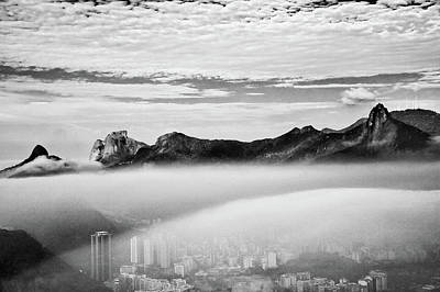Photograph - Brazil, Rio De Janeiro With Clouds by Slow Images