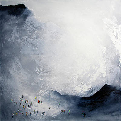 Wall Art - Painting - Break In The Weather Original Painting By Neil Mcbride by Neil McBride