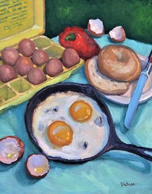 Painting - Breakfast by Jeff Dickson