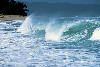 Photograph - Breaking Wave North Shore by Thomas R Fletcher