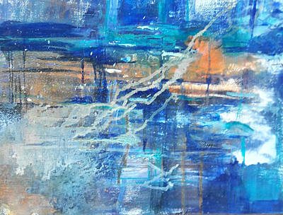 Painting - Breakthrough by Becky Chappell