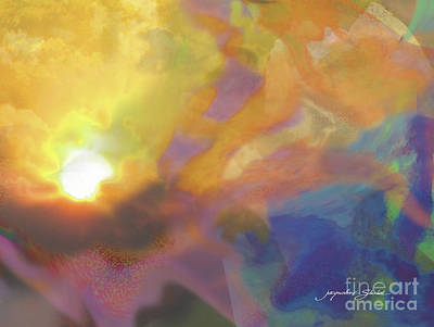 Digital Art - Breakthrough by Jacqueline Shuler