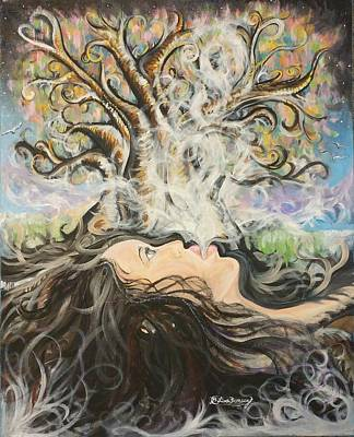 Painting - Breath Of Life by Lisa Bunsey