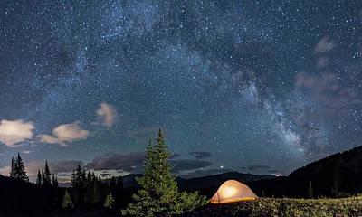 Frank Sinatra - Breckenridge Colorado Milky Way by Michael J Bauer