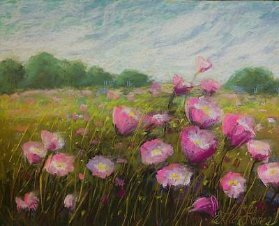 Pastel - Breezy Thrill Of Pinks by Esther Jones