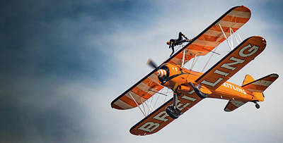 Photograph - Breitling Wing Walker On Side by Scott Lyons