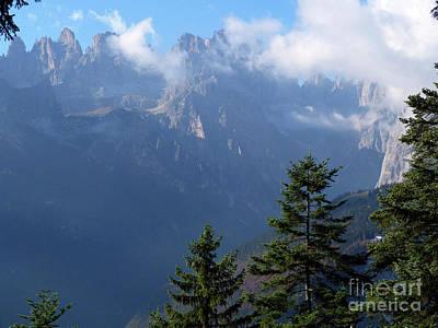 Photograph - Brenta Peaks by Phil Banks