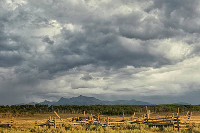 Photograph - Brewing Storm Clouds by Denise Bush