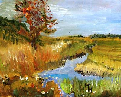 Painting - Brewster Nature Conservacy by Michael Helfen