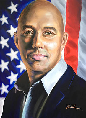 Painting - Brian Mast by Robert Korhonen