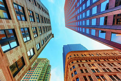 Photograph - Brick And Mortar Skyward by Dee Browning