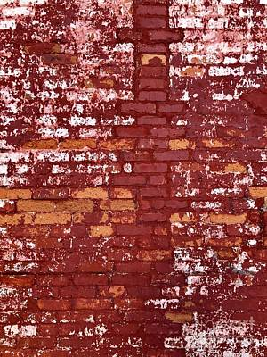 Photograph - Brick Wall by Flavia Westerwelle
