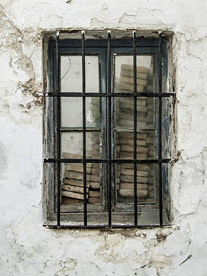 Photograph - Bricked Up Window by Helen Northcott