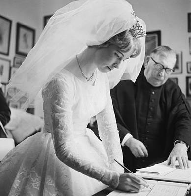 Photograph - Bridal Register by Chaloner Woods