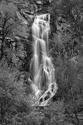 Photograph - Bridal Veil Falls, Spearfish Canyon by Denise Bush