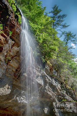 Photograph - Bridal Veil Waterfall by Judy Hall-Folde