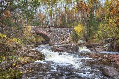 Photograph - Bridge 7 On Seven Bridges Road by Susan Rissi Tregoning