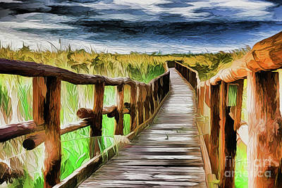 Painting - Bridge A18-122 by Ray Shrewsberry