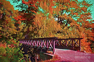 Painting - Bridge A18-32 by Ray Shrewsberry