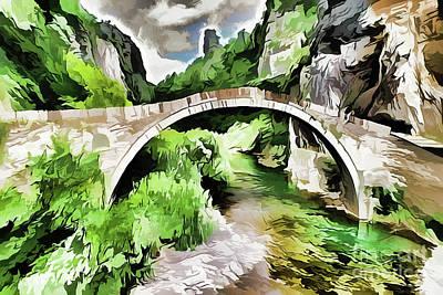 Painting - Bridge A18-71 by Ray Shrewsberry