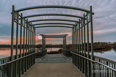 Photograph - Bridge At Purgatory Creek by Susan Rydberg