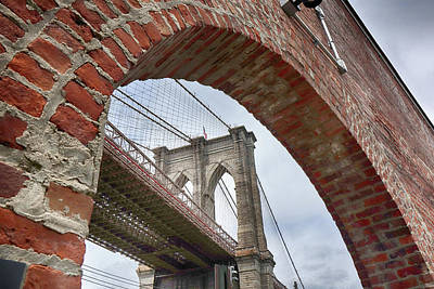 Photograph - Bridge Beneath The Arch by Cate Franklyn