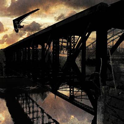 Digital Art - Bridge I by Jason Casteel