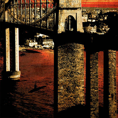 Digital Art - Bridge II by Jason Casteel