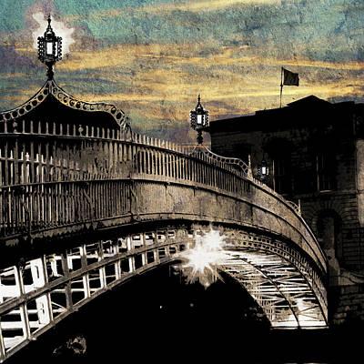 Digital Art - Bridge IIi by Jason Casteel