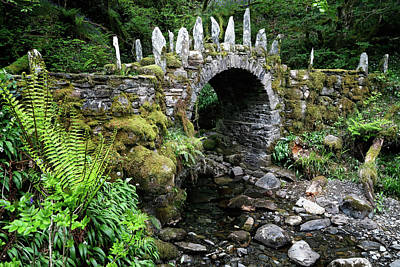 Photograph - Bridge In Fairy Land by Nicholas Blackwell