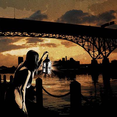 Digital Art - Bridge Iv by Jason Casteel