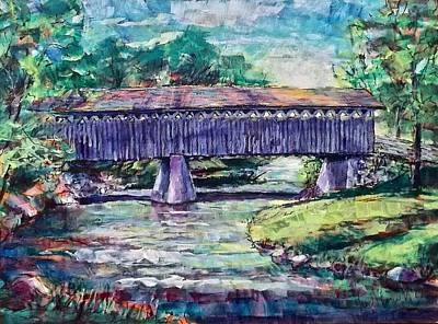Painting - Bridge Light by Les Leffingwell