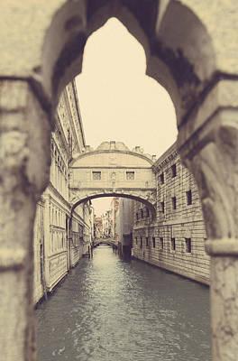 Photograph - Bridge Of Sighs Venice by Georgia Fowler