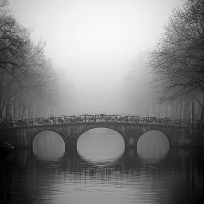 Photograph - Bridge On Keizersgracht, Amsterdam by Cultura Exclusive/alex Holland