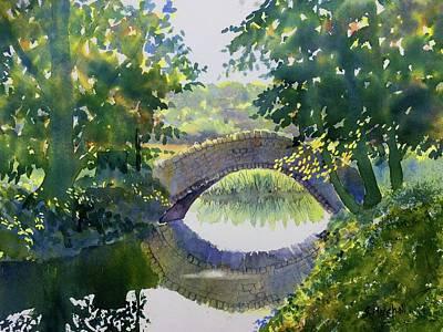 Painting - Bridge Over Gypsy Race by Glenn Marshall