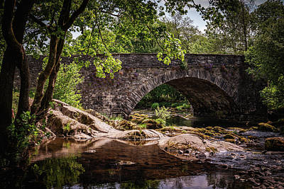 Photograph - Bridge Over Troubling Water by Framing Places