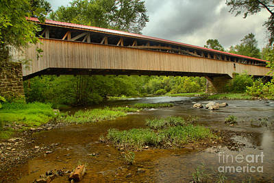 Photograph - Bridge Over Tuscarora Creek by Adam Jewell