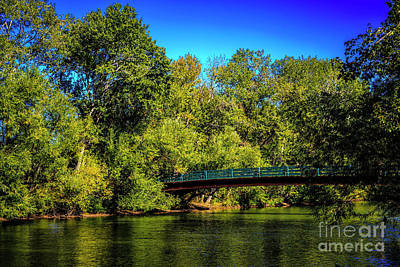 Photograph - Bridge Over Untroubled Water by Jon Burch Photography