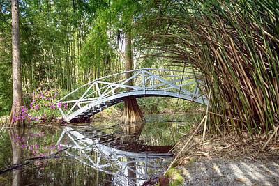 Photograph - Bridge Reflection by Crystal Wightman