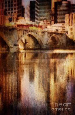 Photograph - Bridge Reflection by Scott Kemper