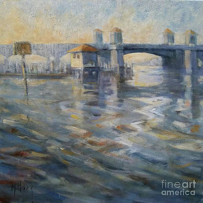 Painting - Bridge Reflections by Mary Hubley
