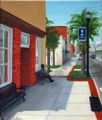 Painting - Bridge Street by Jean Ehler