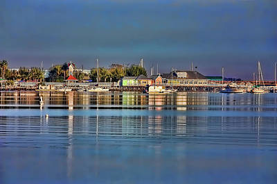 Photograph - Bridge Street Waterfront by HH Photography of Florida