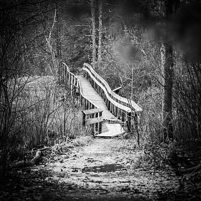 Photograph - Bridge To Nowhere by Ryan Pelletier