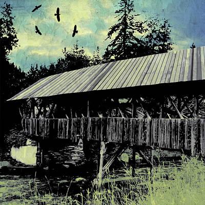 Digital Art - Bridge V by Jason Casteel